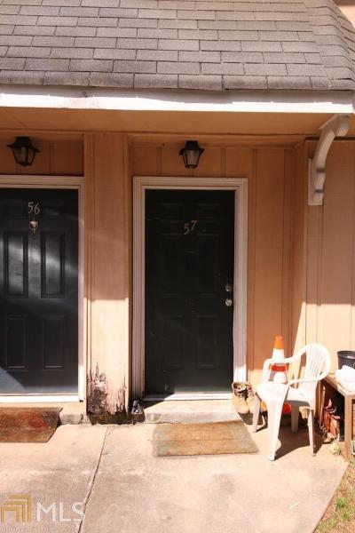 Norcross Condo/Townhouse For Sale: 2340 Beaver Ruin Rd #57