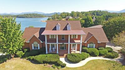 Hiawassee Single Family Home For Sale: 1918 Cedar Cliff Rd