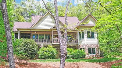 Clayton, Clarkesville, Tiger Single Family Home For Sale: 4477 Murray Cove Rd