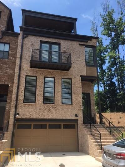 Alpharetta Condo/Townhouse For Sale: 621 Landler Ter #39