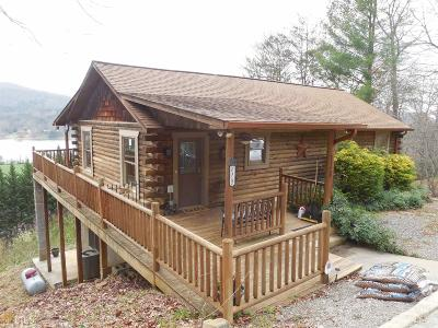 Hiawassee Single Family Home For Sale: 1128 Happy Top Ln