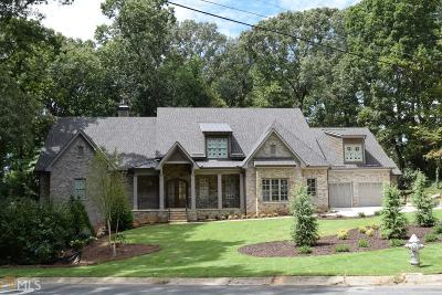 Marietta, Roswell Single Family Home For Sale: 801 Tam O Shanter Dr