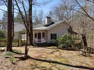 Dawsonville Single Family Home For Sale: 1408 New Bethel Church Rd