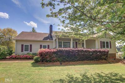 Conyers Single Family Home Under Contract: 3061 Horseshoe Springs Dr