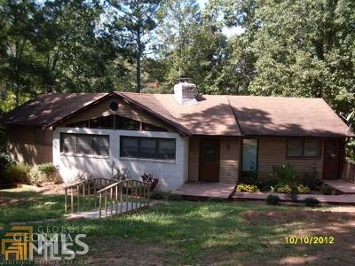 Butts County, Jasper County, Newton County Single Family Home Under Contract: 1019 Whippoorwill Rd