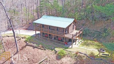Hiawassee Single Family Home For Sale: 468 N Ruby Lake Dr