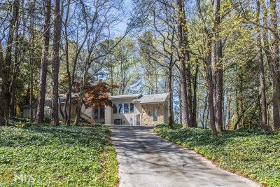 Fulton County Single Family Home For Sale: 990 Ivy Falls Dr