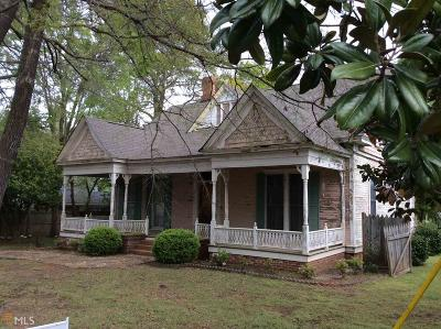 Buckhead, Eatonton, Milledgeville Single Family Home For Sale: 205 W Sumter St