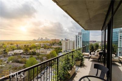 The Astoria Condo/Townhouse For Sale: 2233 Peachtree Rd #1105