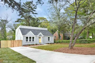 Decatur Single Family Home New: 2448 McAfee Rd