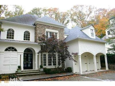 Buckhead Single Family Home New: 1296 W Wesley Rd