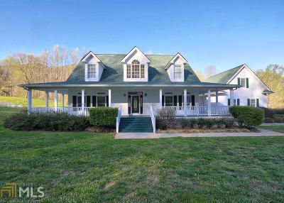 Dahlonega Single Family Home Under Contract: 1422 Jack Walker Rd