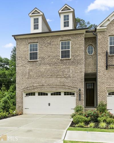 Dekalb County Condo/Townhouse For Sale: 1450 Edgebrook Ct #001