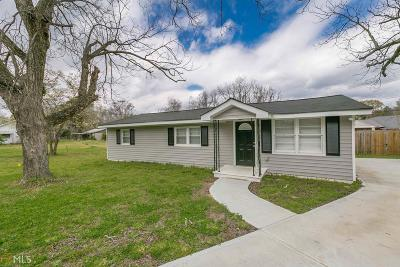 Monroe, Social Circle, Loganville Single Family Home For Sale: 414 Covington St