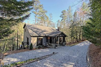 Rabun County Single Family Home Under Contract: 2811 Crow Creek Rd