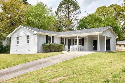College Park Single Family Home Under Contract: 5236 The Savoy St