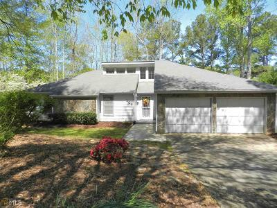 Peachtree City Single Family Home New: 108 Morallion Hills #190