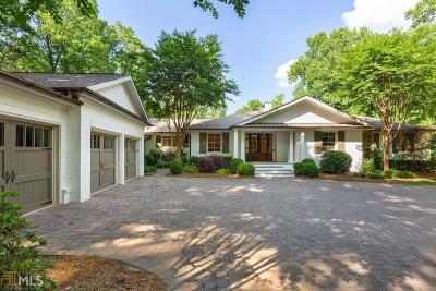 Buckhead Single Family Home New: 539 W Paces Ferry Rd