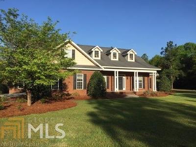 Statesboro Single Family Home For Sale: 3104 Hawks Ct