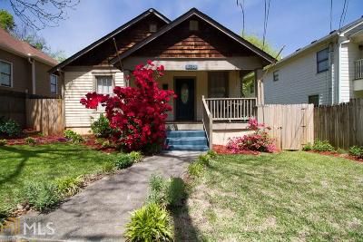 Grant Park Single Family Home Under Contract: 696 Woodward Ave