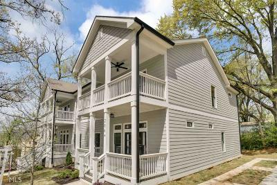 Fulton County Condo/Townhouse For Sale: 266 Bass St #B