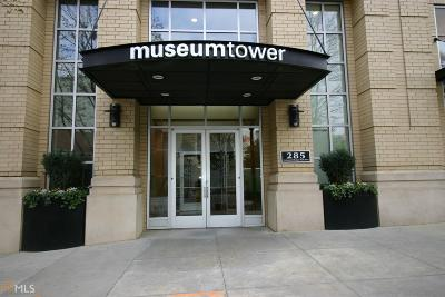 Museum Tower Condo/Townhouse For Sale: 285 Centennial Olympic Park Dr #PH 2-7