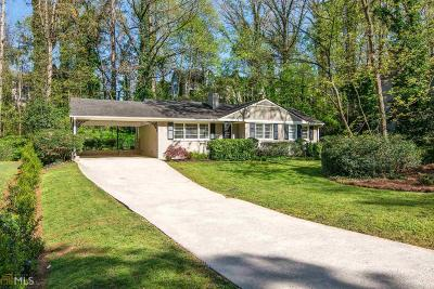 Fulton County Single Family Home For Sale: 5545 Sherrell Dr