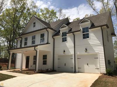 Douglasville Single Family Home New: 1189 Senator Rd