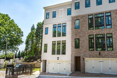 Fulton County Condo/Townhouse For Sale: 2862 Lenox Rd #1