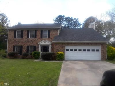 Snellville Single Family Home New: 1970 Meadowchase Ct