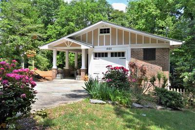 Atlanta Single Family Home New: 1925 Windemere Dr