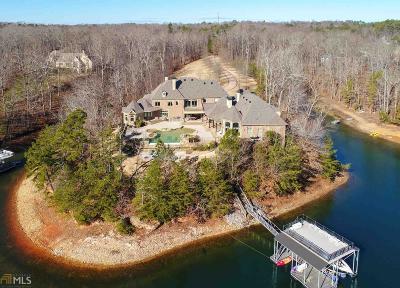 Walton County, Gwinnett County, Barrow County, Hall County, Forsyth County Single Family Home For Sale: 8980 Pine Tree Cir