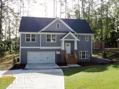 Douglasville Single Family Home New: 36 Senator Lake Dr