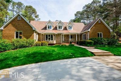 Sandy Springs Single Family Home New: 500 Spalding Hills Ct