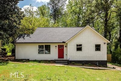 Dekalb County Single Family Home For Sale: 1371 Lochland Rd