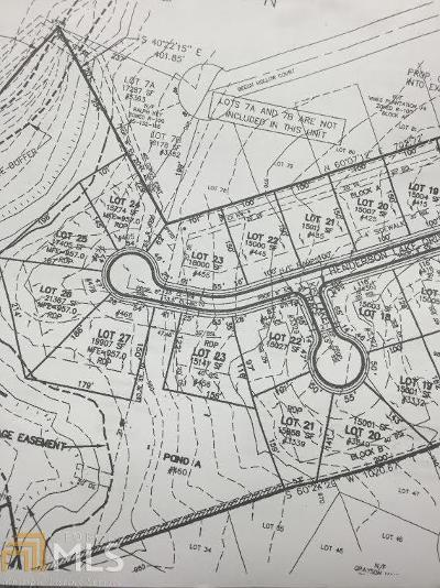 Loganville Residential Lots & Land For Sale: Oak Grove Rd