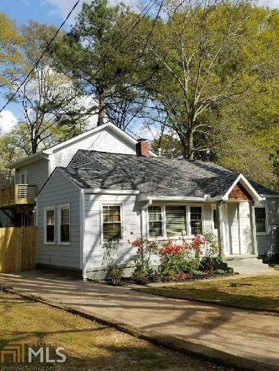 Atlanta Single Family Home New: 372 SE Ashburton Ave