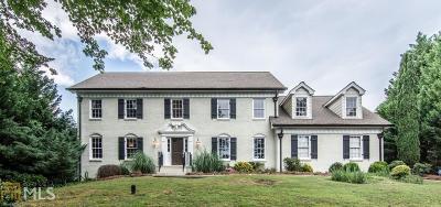 Atlanta Single Family Home New: 120 Marsh Glen Point