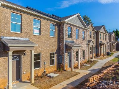 Peachtree Walk Condo/Townhouse For Sale: 3459 Narrow Creek Ct #98