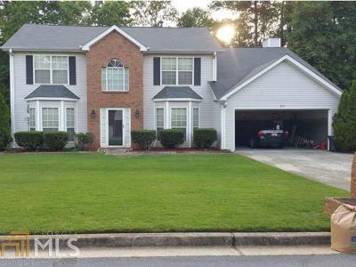Lithonia Single Family Home Under Contract: 837 Stonebrook Dr