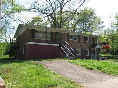 Fulton County Multi Family Home New: 1214 Calhoun Ave