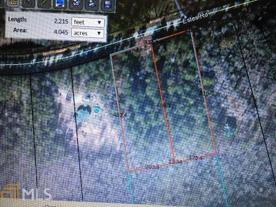 Rutledge Residential Lots & Land For Sale: Estes Rd
