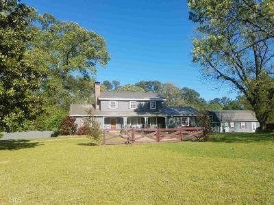 Griffin Single Family Home For Sale: 2047 Locust Grove Rd
