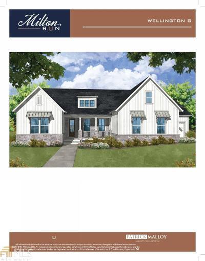 Milton Single Family Home For Sale: 15745 Burdette Ct