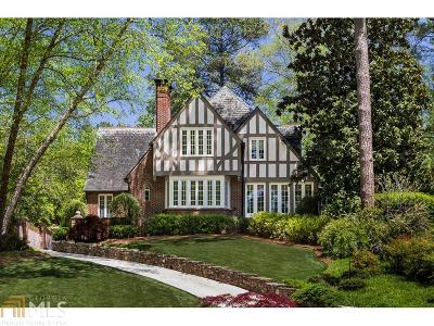 Atlanta Single Family Home New: 1090 Berkshire Rd