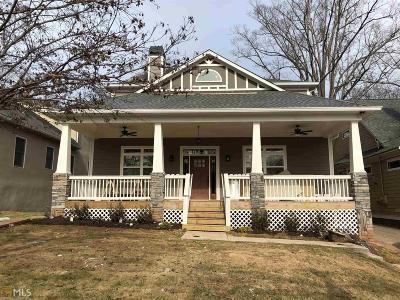 Atlanta Single Family Home New: 2132 Memorial Dr