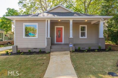 DeKalb County Single Family Home New: 723 Brownwood Avenue SE