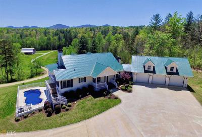 Blairsville Single Family Home Under Contract: 1330 Jones Creek Rd
