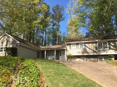 Sandy Springs Single Family Home New: 7150 Dunhill
