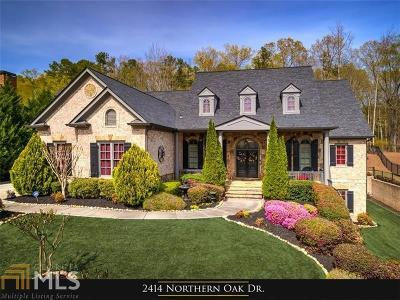 Braselton Single Family Home For Sale: 2414 Northern Oak Dr